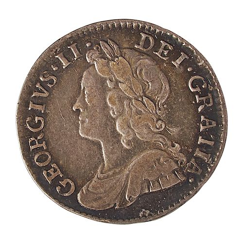 GREAT BRITAIN 1743 MAUNDY COIN SET