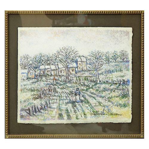 Paul Emile Pissarro (1884 - 1972) Pastel