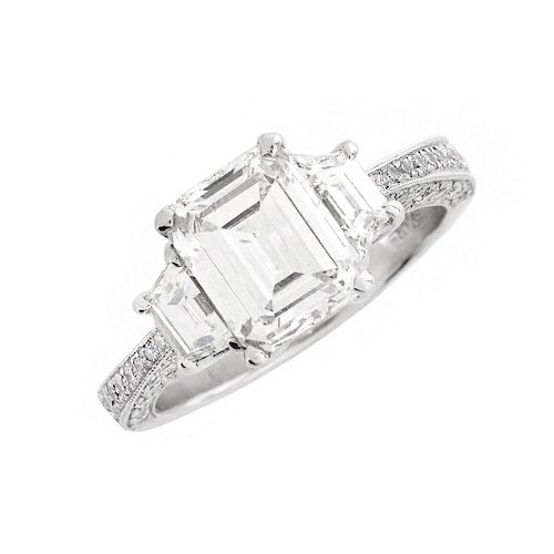 EGL 2.08ct Diamond Engagement Ring