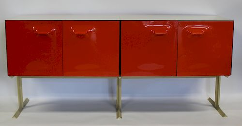 RAYMOND LOWEY. 2 Sided Bar / Cabinet.