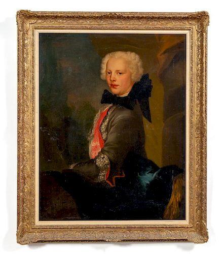 Large Continental Nobleman Portrait, 18th Century