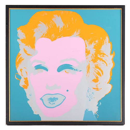 "After Andy Warhol. ""Marilyn Monroe"""