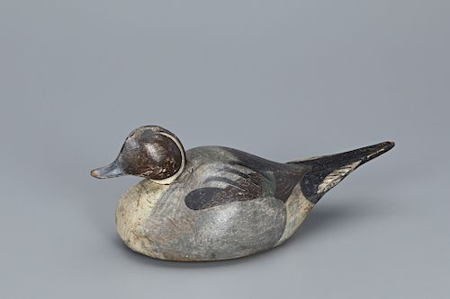 The Earnest-Purnell Humpback Pintail Drake Decoy, The Ward Brothers