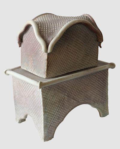 Jill Matherson: Ceramic Tea House