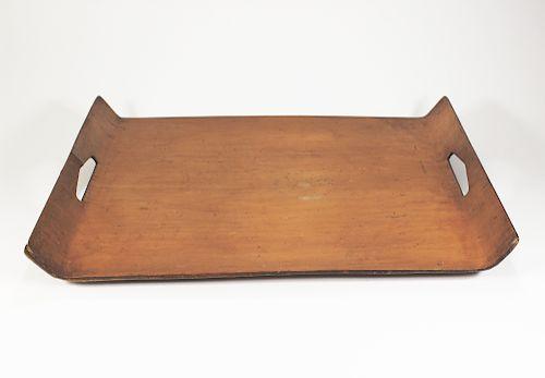 Russel Wright Raised Wood Tray