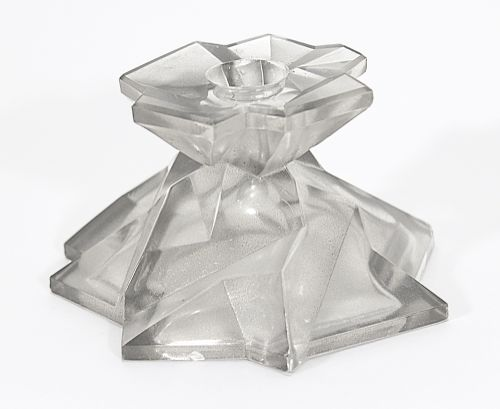 Ruba Rombic Silver Candleholder