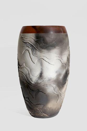 Nancee Meeker Geologic  Vase