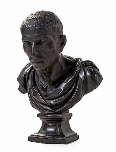 A Plaster Bust of Marcus Tullius Cicero