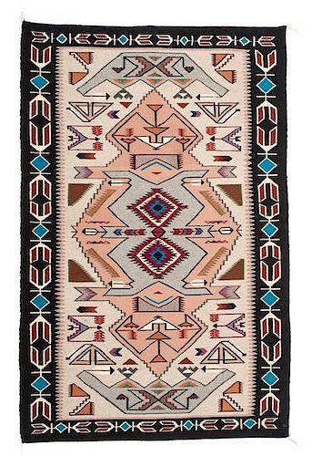 Linda Nez (Dine [Navajo], 20th century) Teec Nos Pos Weaving / Rug