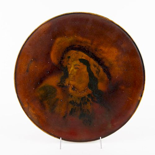 DOULTON BURSLEM LARGE HOLBEIN WARE CHARGER PLATE