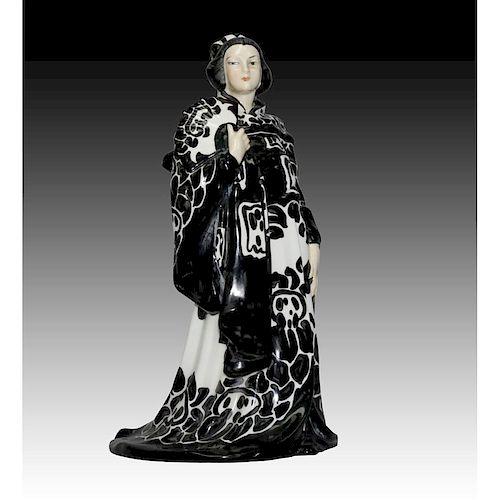 ROYAL DOULTON FIGURINE, JAPANESE LADY HN634