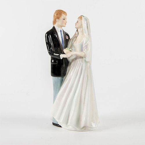 ROYAL DOULTON PROTOTYPE FIGURINE, WEDDING VOWS