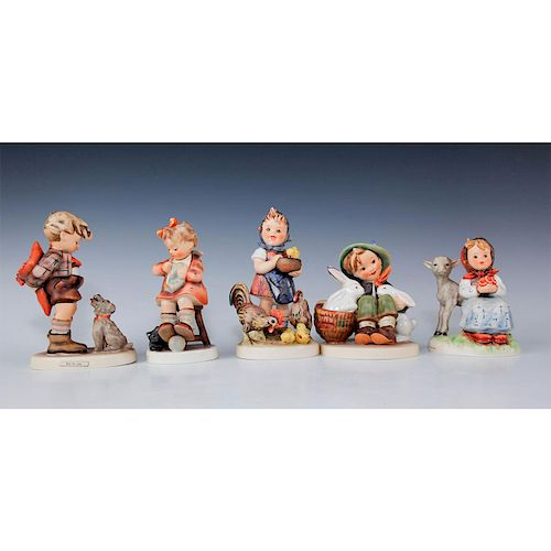 GROUPING OF HUMMEL FIGURINES
