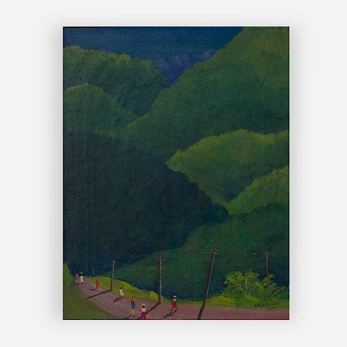 Noel Coward - Unititled (Mountain road, Jamaica)