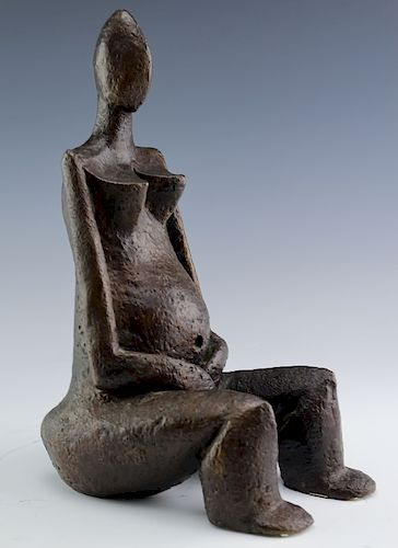 Sydney Alex Kumalo Modernist South African Bronze