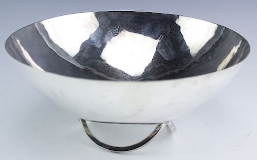RARE Cartier Shirada Modern Sterling Silver Bowl