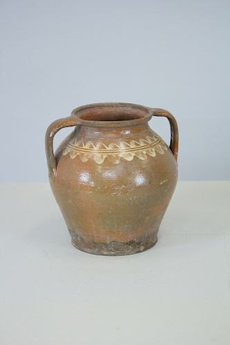 Antique Turkish Terracotta Jug