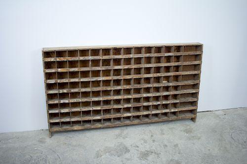 Antique Pigeon Hole Cabinet