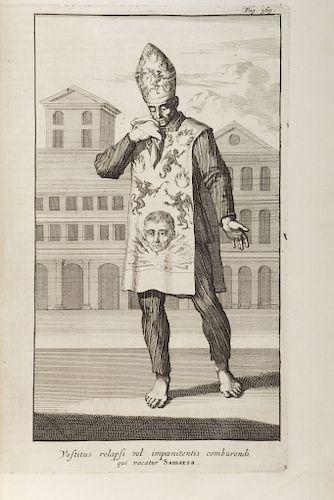 Limborch, Philippi A. Historia Inquisitionis. Cui Subjungitur Liber Sententiarum Inquisitionis Tholosanae… Amstelodami, 1692.