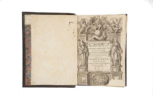 Solorzano Pereira, Ioannis de. Emblemata Centvm, Regio Politica. Matriti: Typographia Domin. Garciae Morras, 1653.