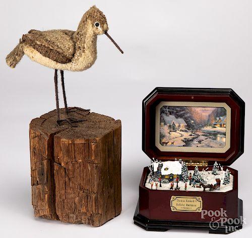 Thomas Kinkade music box, etc.