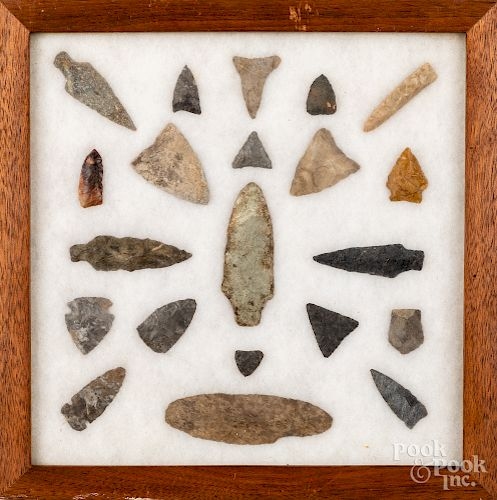 Native American stone artifacts