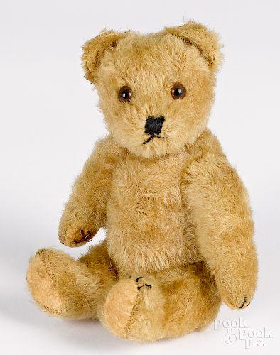 Two Steiff mohair teddy bears