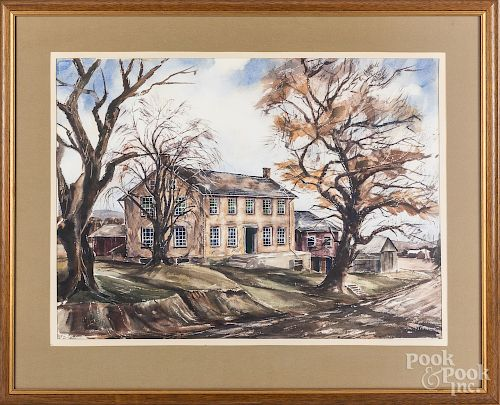 J. Pritko watercolor