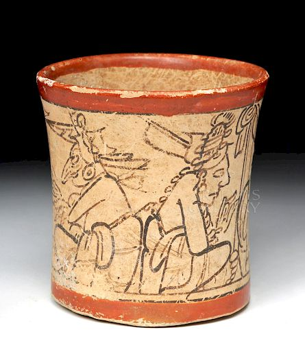 Translated Maya Codex Style Cylinder