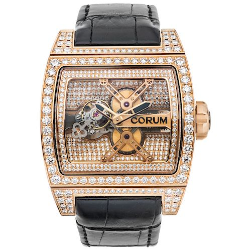 CORUM TI-BRIDGE TOURBILLON REF. 05.0082, CA. 2013 wristwatch.