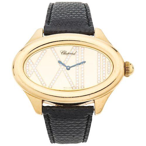 CHOPARD MONTRES DAME CAT EYE REF. 5300 wristwatch.
