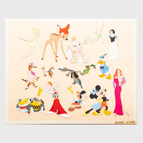 Walt Disney Studios: Collage of Toons