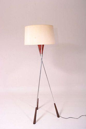 Mid Century Modern Tripod Floor Lamp By Ambianic Mid Century