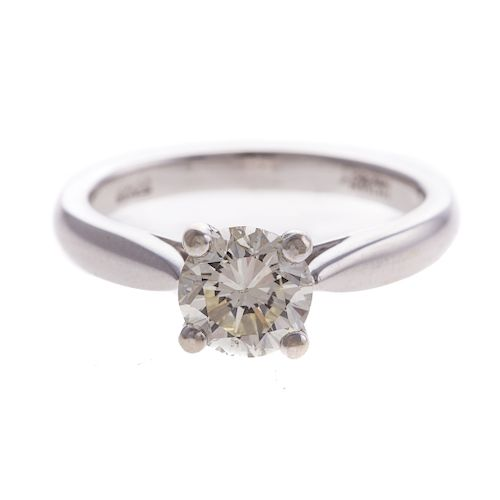 A Ladies 1.07ct Diamond Solitaire Ring in 14K