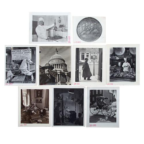 A. Aubrey Bodine. Nine Asstd. Photos: Occupations
