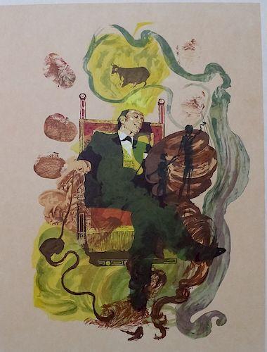 Authentic Salvador Dali Dreams AP L/E Lithograph