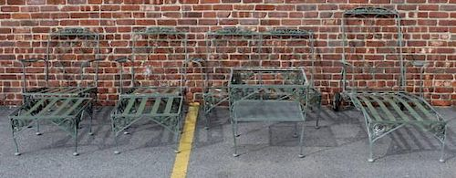 Vintage Salterini ? Wrought Iron Furniture.