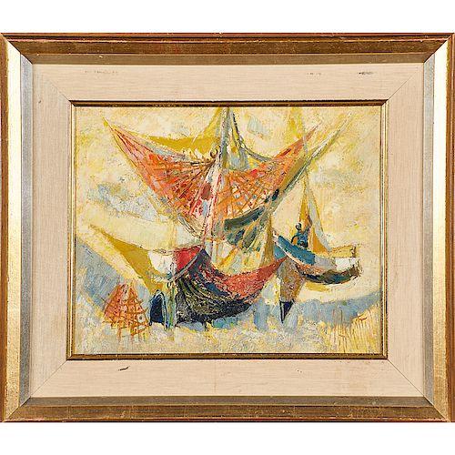 RENE MARGOTTON (French, 1915-2009)
