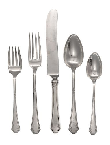 A Towle Flatware Service for Twelve<br>comprising