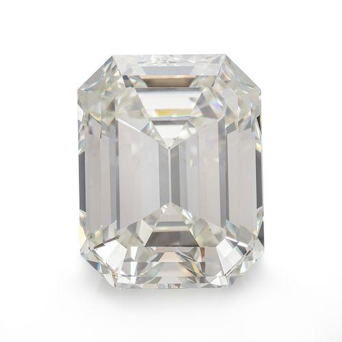 A 5.14 Carat Octagonal Step Cut Diamond,