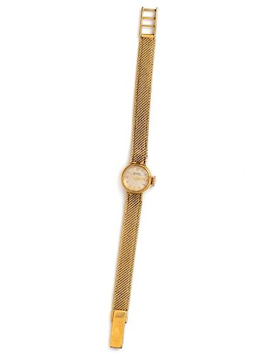 An 18 Karat Yellow Gold Wristwatch, Rolex,