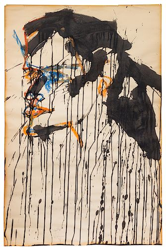 Norman Bluhm(American, 1921-1999)To Mouthpiece, 1