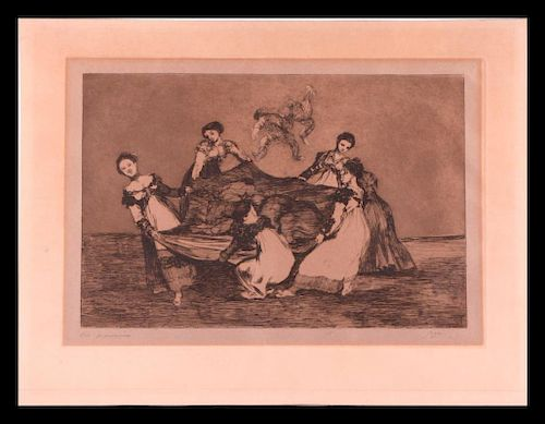 Francisco Jose De Goya (1746 - 1828).