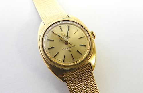 Vintage Omega Constellation Lady's Watch