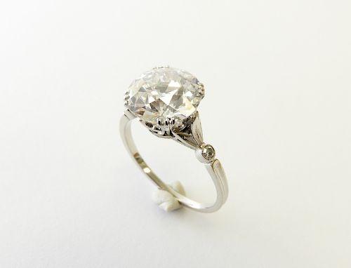 4 Carat Diamond Engagement Ring