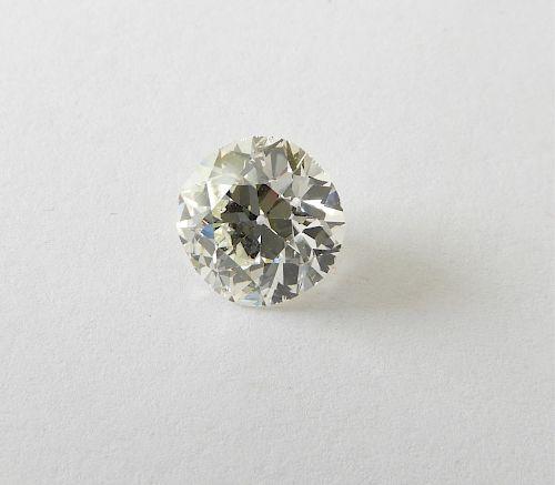 3.29 ct Cushion Cut Diamond