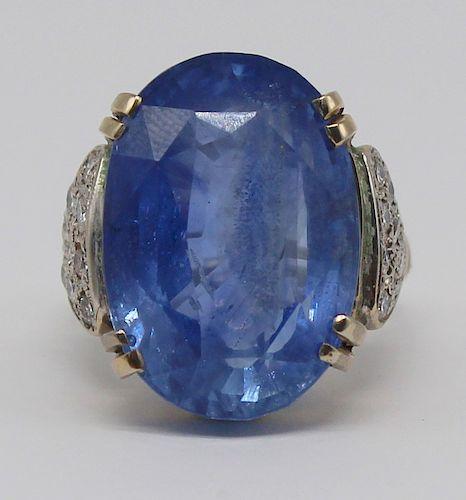 JEWELRY. GIA 29ct CEYLON Sapphire, no. 2205508437.
