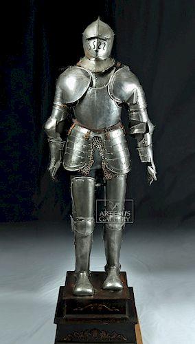 Baroque / Victorian Italian Composite Suit of Armor