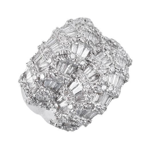 3.15ct TW Diamond and 18K Ring