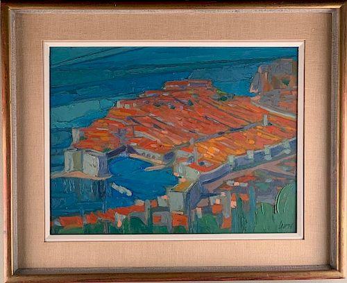 Myron Levytsky (Ukrainian 1913-1993)